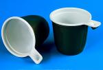 Чашка ПП 200 мл. УЮ бело/корич (1000 шт/кор)