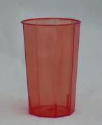 Стакан ПС 125 мл кристалл (560 шт/кор) КРАСНЫЙ