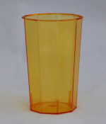 Стакан ПС 125 мл кристалл (560 шт/кор) ЖЕЛТЫЙ