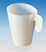 Чашка кофейная ДИЗАЙН PS 12 шт/уп, 20 уп/кор