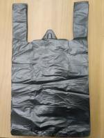 Пакет-майка 38/68 18мкм, черная (100/2000шт)