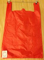 Пакет-майка красная 40*65 см